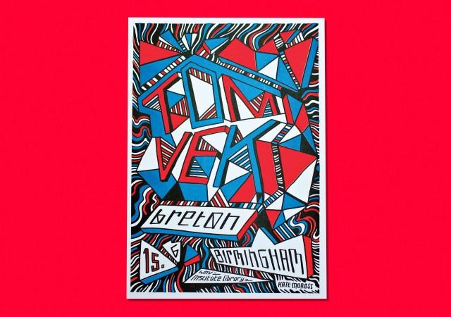 Tom Vek Poster