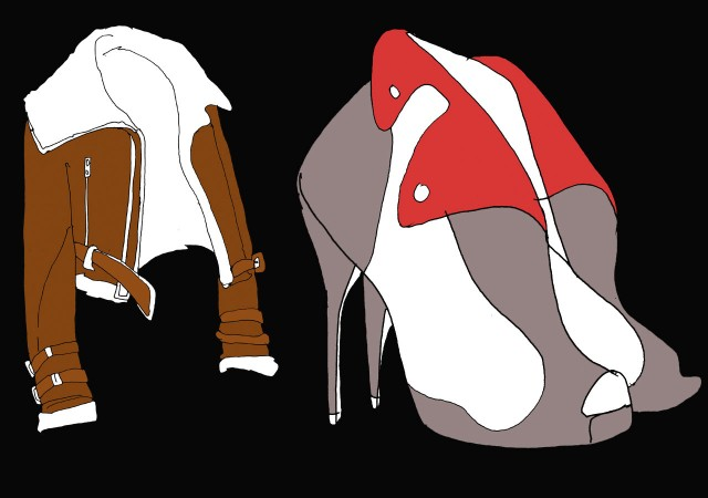Fashion Coat Shoes
