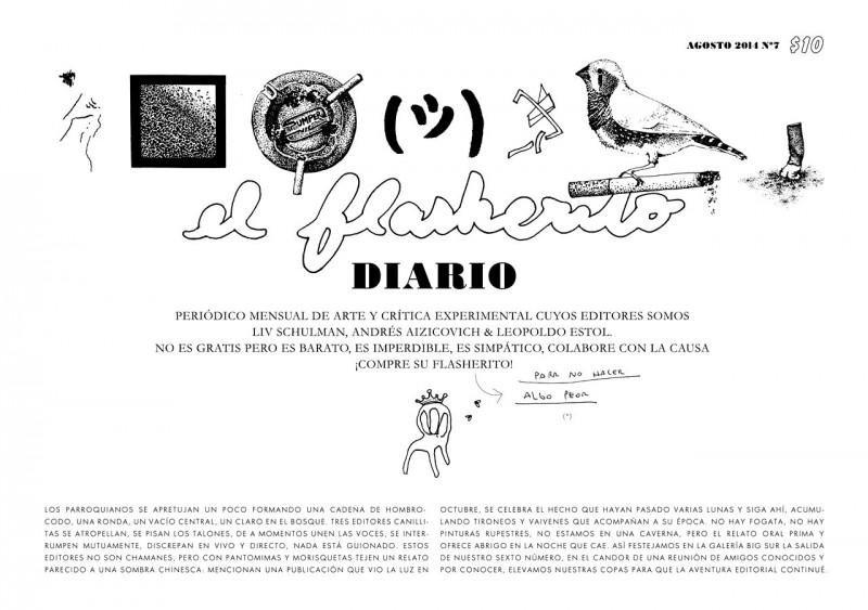 El flasherito, ART Newspaper