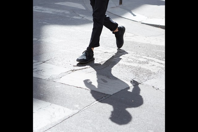 Photo by Cat Garcia of Paris Fashion Week for Mr Porter