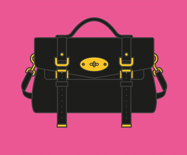 Handbag Illustration by James Joyce
