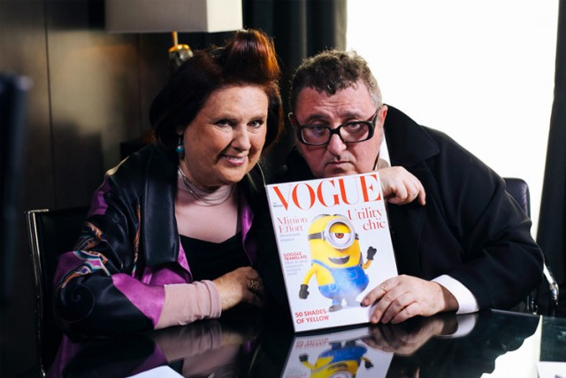 Vogue Presents the Minions