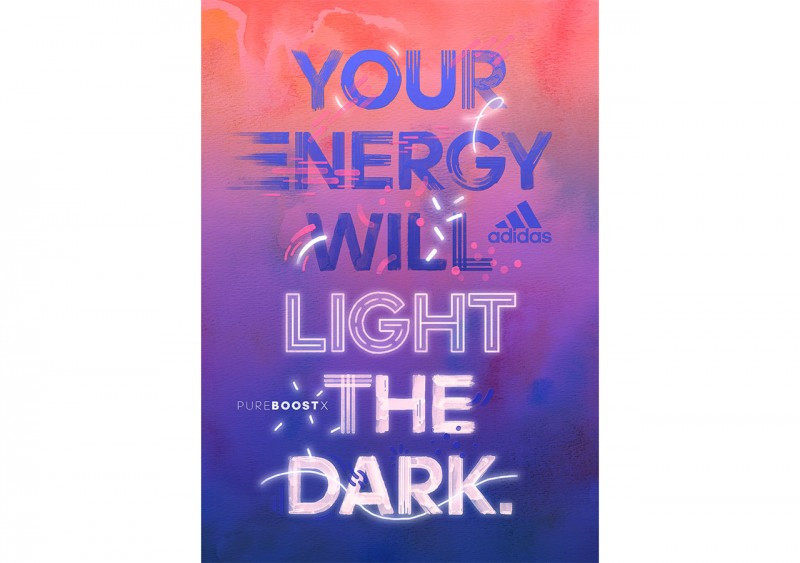 Your Energy Will Light The Dark Poster