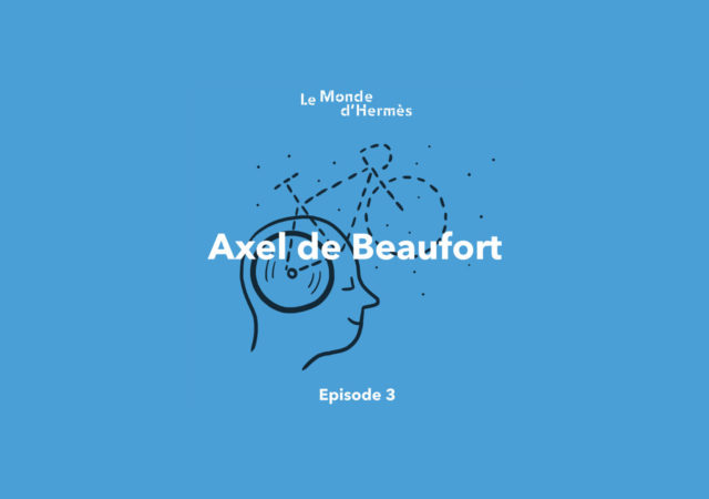 Matt Blease illustration for new Hermés podcast series