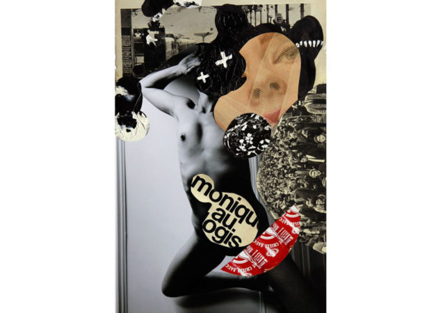 'Nude In The Jungle' is a sequence of collaged photographic self-portraits by Quentin Jones.