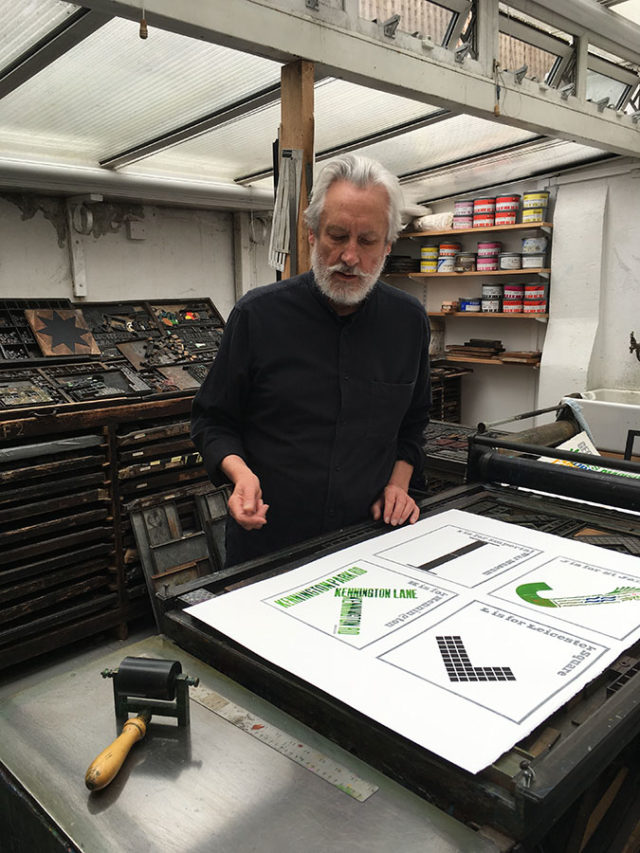 The future of typography with Alan Kitching & Steven Wilson