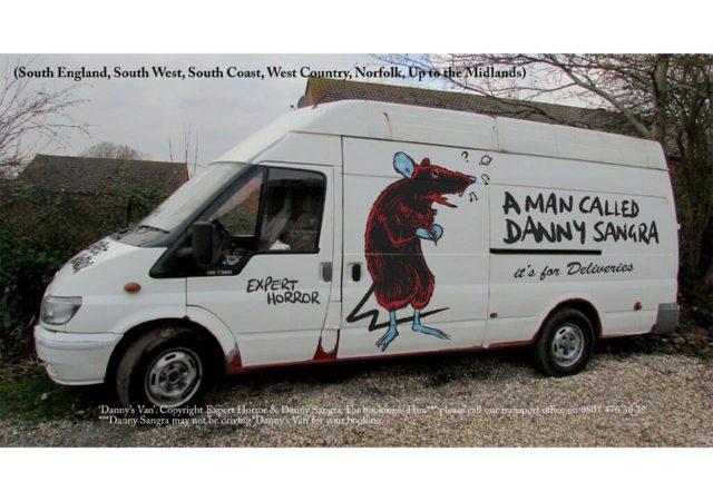 Danny Sangra and Expert Horror t-shirt collaboration for Dover Street Market