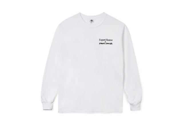 Danny Sangra x Export Horror t-shirt collaboration