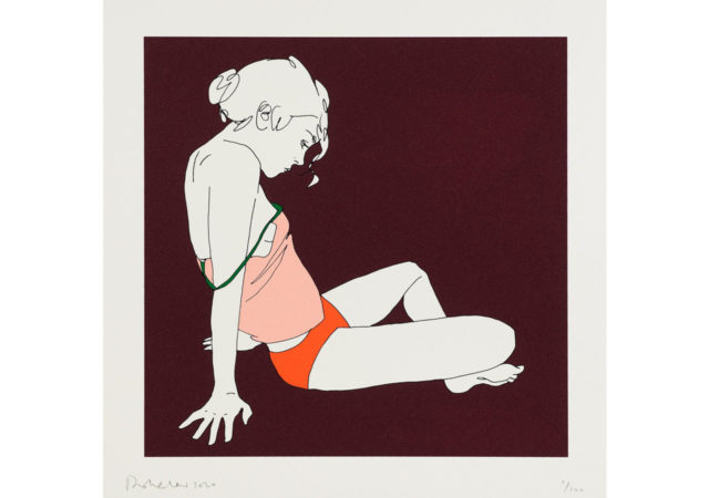 Eleven art gallery issues limited edition print by Natasha Law