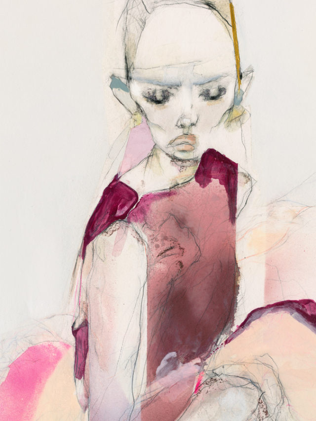 Phillippa Mills illustrations feature Chanel and Giambattista Valli