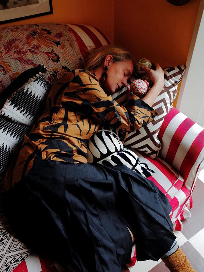 Lucinda Chambers by Virginie Khateeb for Vogue Ukraine