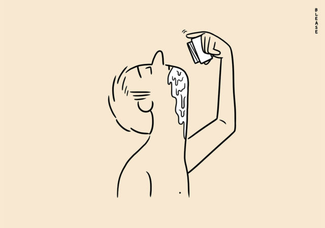 Matt Blease illustrations for Mr Porter