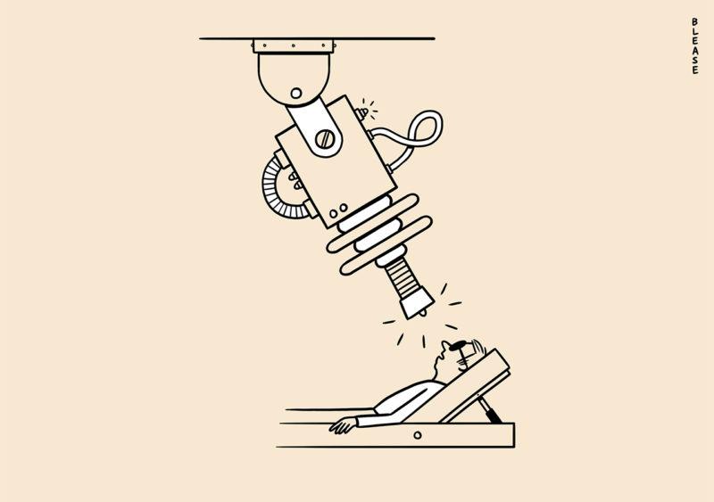 Matt Blease illustrations for Mr Porter