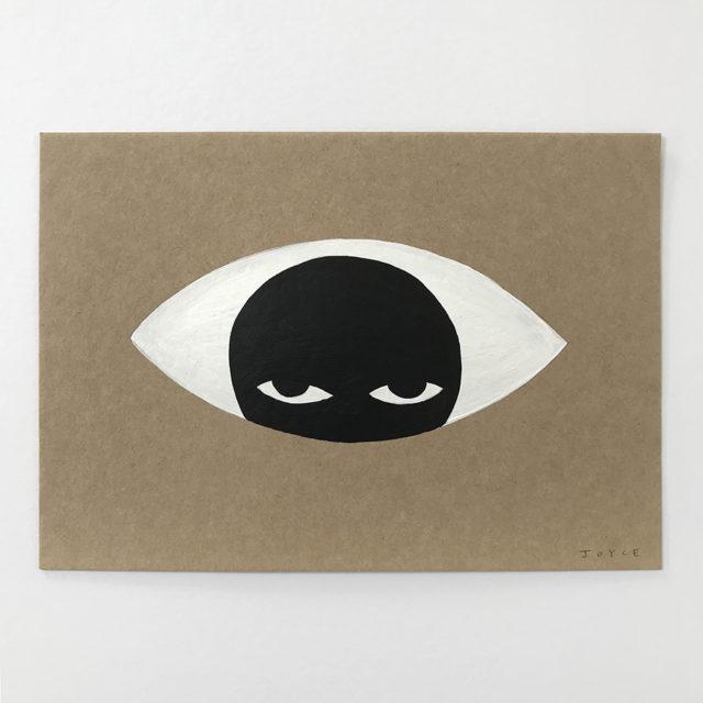 Eyesolation paintings by illustrator James Joyce
